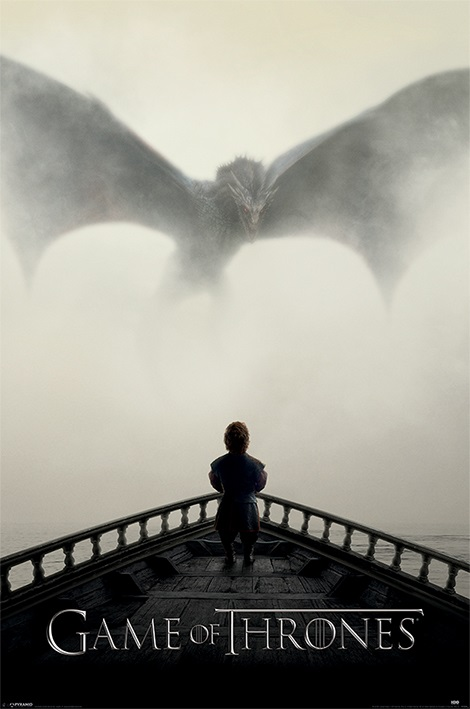 Плакат Game Of Thrones: A Lion & A Dragon a game of thrones