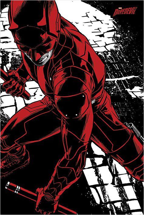Плакат Daredevil TV Series: Fight daredevil volume 1