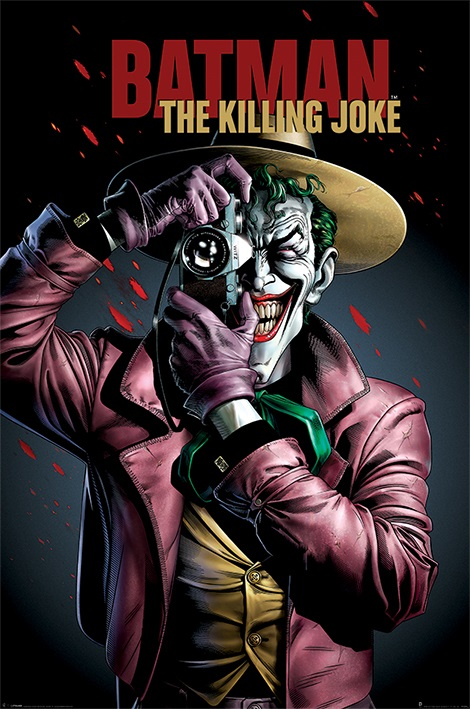 Плакат Batman: The Killing Joke CoverПлакат Batman: The Killing Joke Cover создан по мотивам супергеройских комиксов издательства DC Comics.<br>