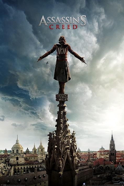 Плакат Assassins Creed: Spire TeaserПлакат Assassins Creed: Spire Teaser создан по мотивам серии мультиплатформенных компьютерных игр в жанре приключенческого боевика.<br>