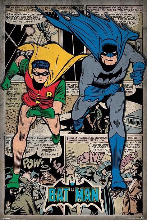 Плакат Batman: Comic MontageПлакат Batman: Comic Montage создан по мотивам супергеройских комиксов издательства DC Comics.<br>