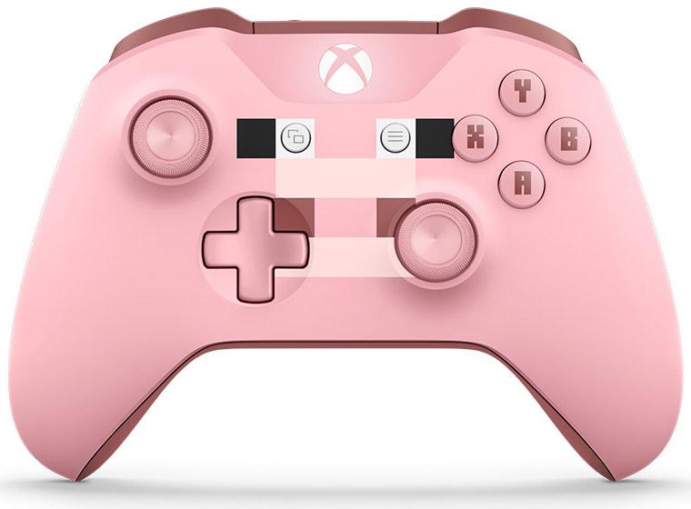 Беспроводной геймпад для Xbox One с 3,5 мм разъемом и Bluetooth (Minecraft Pig) forza motorsport 5 [xbox one]