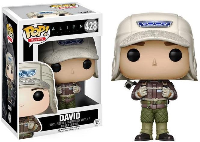 Фигурка Funko POP Movies Alien: Covenant – David (9,5 см)Фигурка Funko POP Movies Alien: Covenant – David воплощает собой одного из персонажей американского научно-фантастического фильма режиссёра Ридли Скотта.<br>