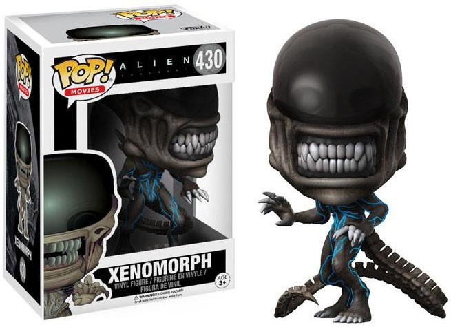 Фигурка Funko POP Movies: Alien Covenant – Xenomorph (9,5 см)