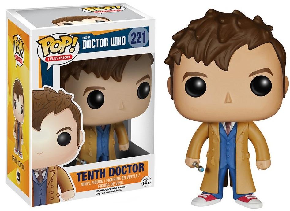 Фигурка Funko POP Television Doctor Who: Tenth Doctor With Hand (9,5 см)Фигурка Funko POP Television Doctor Who: Tenth Doctor With Hand воплощает собой одного из персонажей культового британского научно-фантастического телесериала «Доктор Кто».<br>