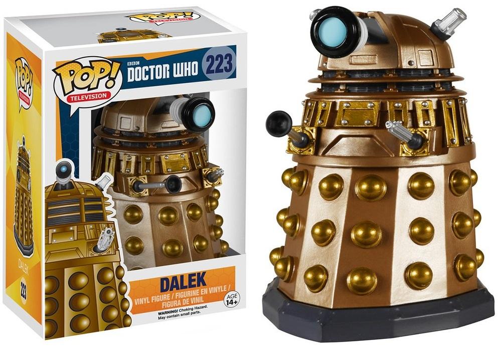 Фигурка Funko POP Television Doctor Who: Dalek (9,5 см)Фигурка Funko POP Television Doctor Who: Dalek воплощает собой одного из персонажей культового британского научно-фантастического телесериала «Доктор Кто».<br>