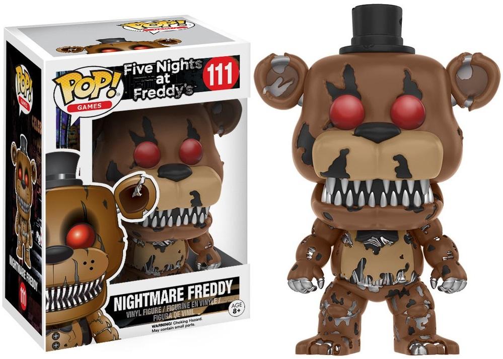 Фигурка Funko POP Games Five Nights at Freddy's: Nightmare Freddy (9,5 см)Фигурка Funko POP Games Five Nights at Freddy's: Nightmare Freddy воплощает собой одного из персонажей игры Five Nights at Freddys (Пять ночей у Фредди).<br>