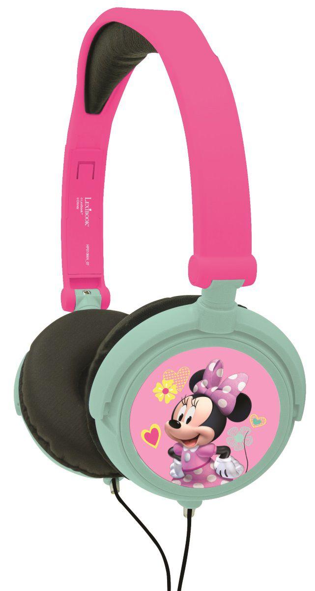 Наушники Minnie Mouse Bow-TiqueСлушайте музыку, не мешая никому, в наушниках Minnie Mouse Bow-Tique! Модный дизайн с изображением милашки Минни Маус.<br>