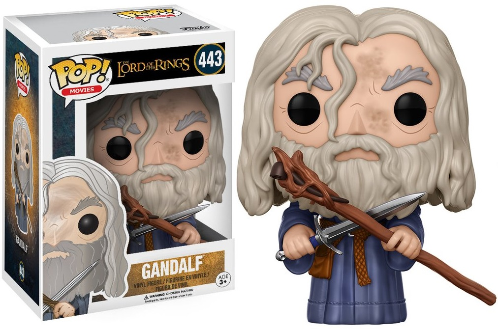 Фигурка Funko POP Movies The Lord of the Rings: Gandalf (9,5 см) гобелен 180х145 printio the lord of the rings lotr властелин колец