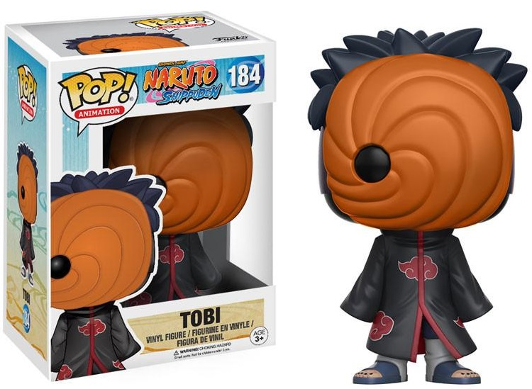 Фигурка Funko POP Animation Naruto Shippuden: Tobi (9,5 см) фигурка funko pop animation one piece portgas d ace 9 5 см