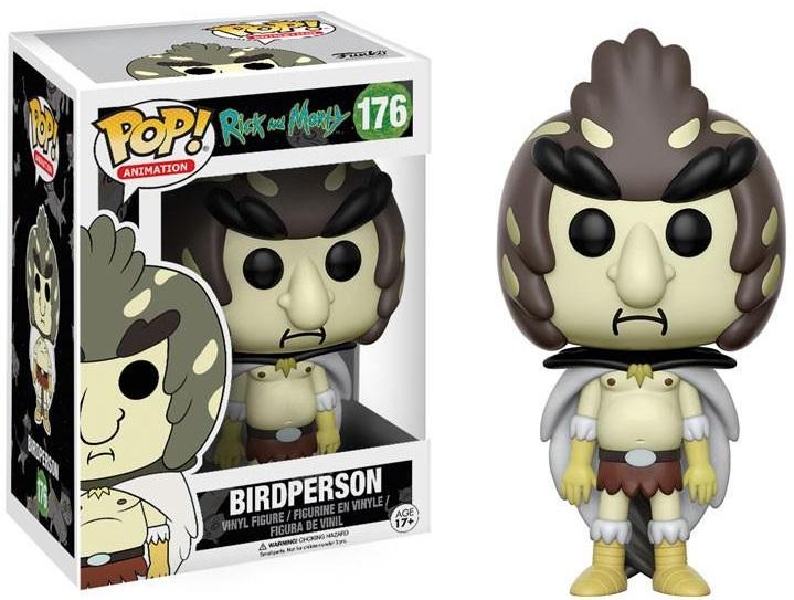 Фигурка Funko POP Animation Rick &amp; Morty: Birdperson (9,5 см)Фигурка Funko POP Animation Rick &amp;amp; Morty: Birdperson создана по мотивам американского анимационного сериала, созданного Джастином Ройландом и Дэном Хармоном.<br>