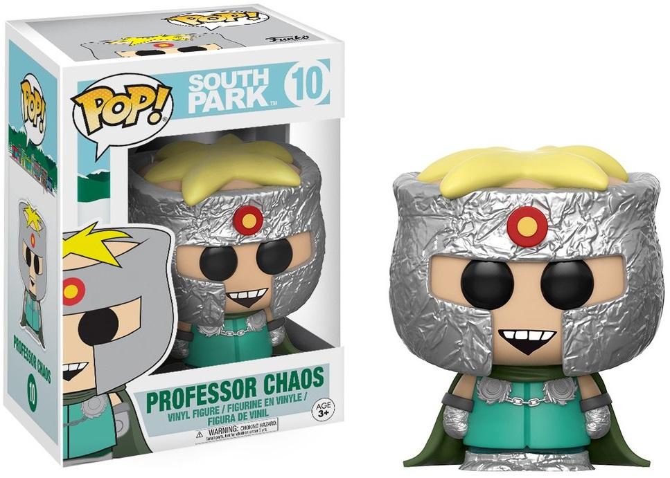 Фигурка Funko POP South Park: Professor Chaos (9,5 см)Фигурка Funko POP South Park: Professor Chaos создана по мотивам американского мультсериала «Южный парк».<br>