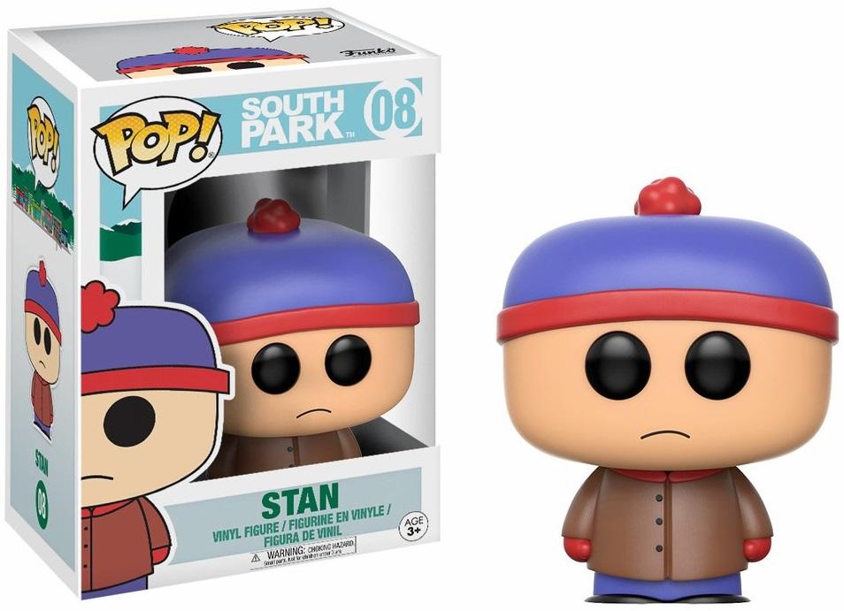 Фигурка Funko POP South Park: Stan (9,5 см)Фигурка Funko POP South Park: Stan создана по мотивам американского мультсериала «Южный парк».<br>