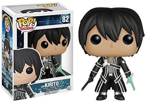 Фигурка Funko POP Animation: Sword Art Online – Kirito (9,5 см) casio prg 600yl 5e