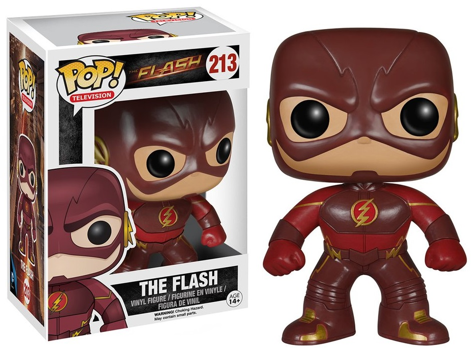 Фигурка Funko POP Television Flash: The Flash (9,5 см) фигурка funko pop television stranger things hopper 9 5 см