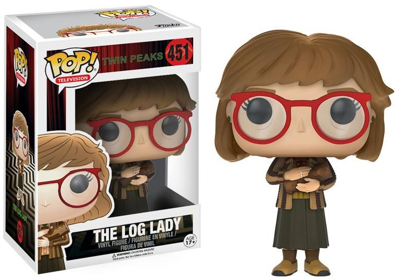 Фигурка Funko POP Television Twin Peaks: The Log Lady (9,5 см) виниловая пластинка сборник twin peaks limited event series soundtrack score