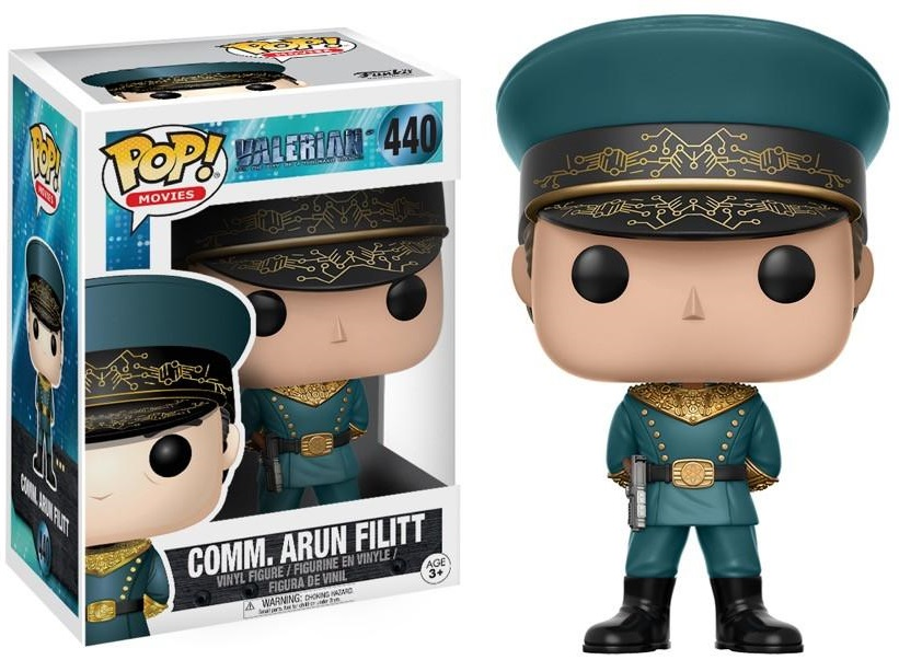 Фигурка Funko POP Movies: Valerian – Commander Arun Filitt (9,5 см) фото