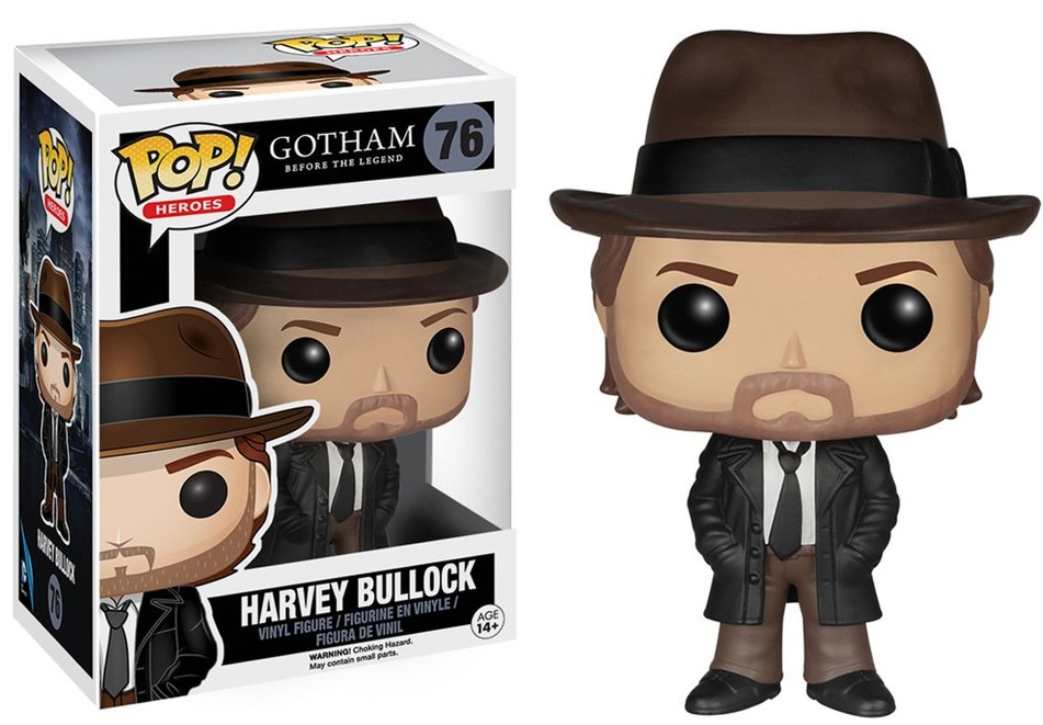 Фигурка Funko POP Heroes Gotham Before The Legend: Harvey Bullock (9,5 см)Фигурка Funko POP Heroes Gotham Before The Legend: Harvey Bullock создана по мотивам американского криминального телесериала по мотивам серии комиксов издательства DC Comics.<br>