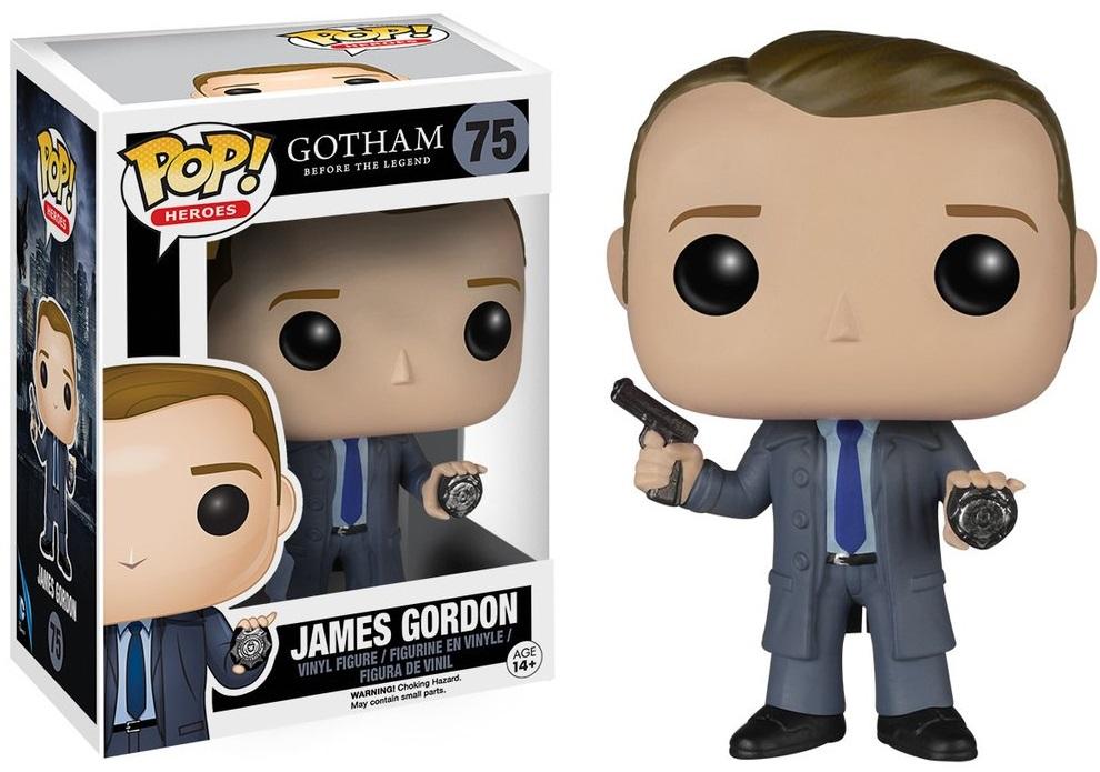 Фигурка Funko POP Heroes Gotham Before The Legend: James Gordon (9,5 см) фигурка funko pop heroes justice league batman 9 5 см