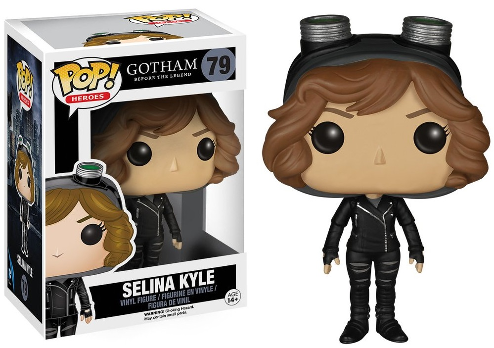 Фигурка Funko POP Heroes Gotham Before The Legend: Selina Kyle (9,5 см)Фигурка Funko POP Heroes Gotham Before The Legend: Selina Kyle создана по мотивам американского криминального телесериала по мотивам серии комиксов издательства DC Comics.<br>