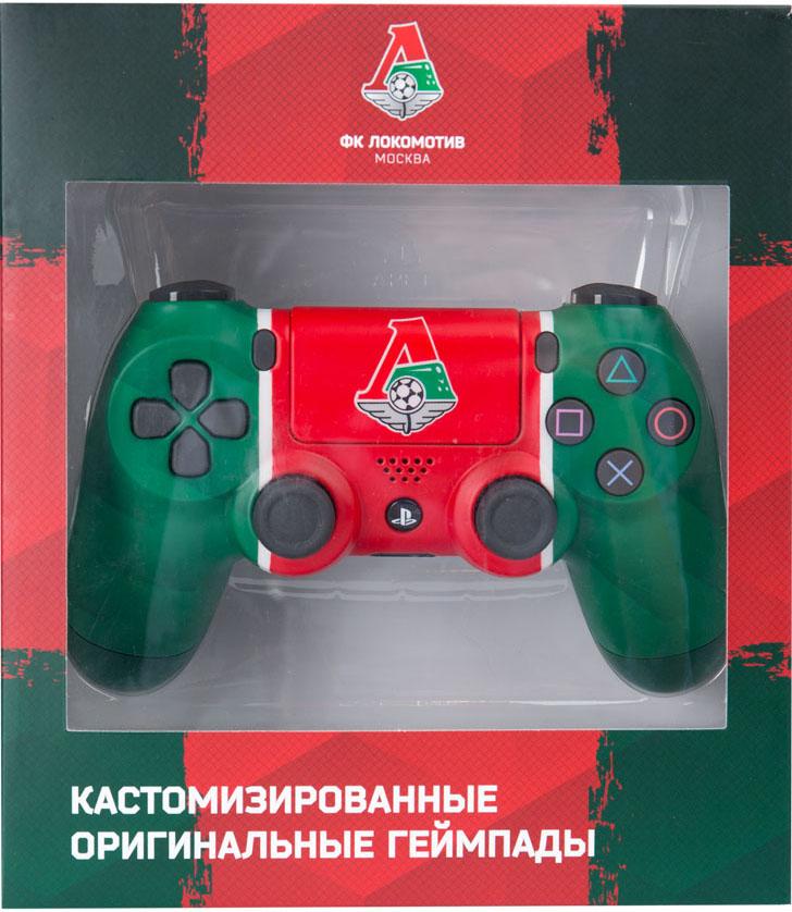 Кастомизированный беспроводной геймпад DualShock 4 для PS4 (Локомотив. Чемпионский экспресс)
