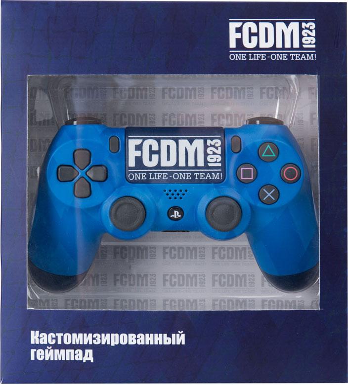 Кастомизированный беспроводной геймпад DualShock 4 для PS4 (Динамо. FCDM 1923) аксессуар для портативной консоли sony pch zpc1e портативное