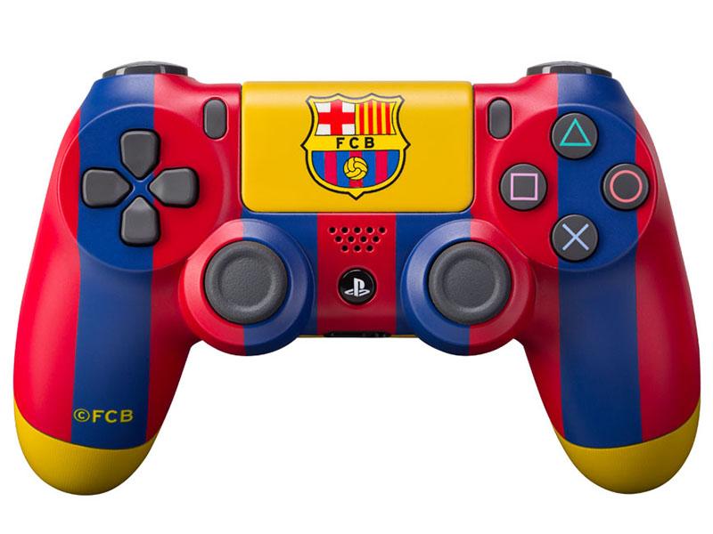 Кастомизированный беспроводной геймпад DualShock 4 для PS4 (Барселона Клубный) аксессуар для портативной консоли sony pch zpc1e портативное