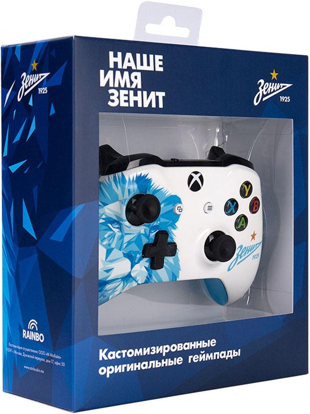 Кастомизированный беспроводной геймпад для Xbox One (Zenit Lion) кастомизированный беспроводной геймпад для xbox one гладиатор