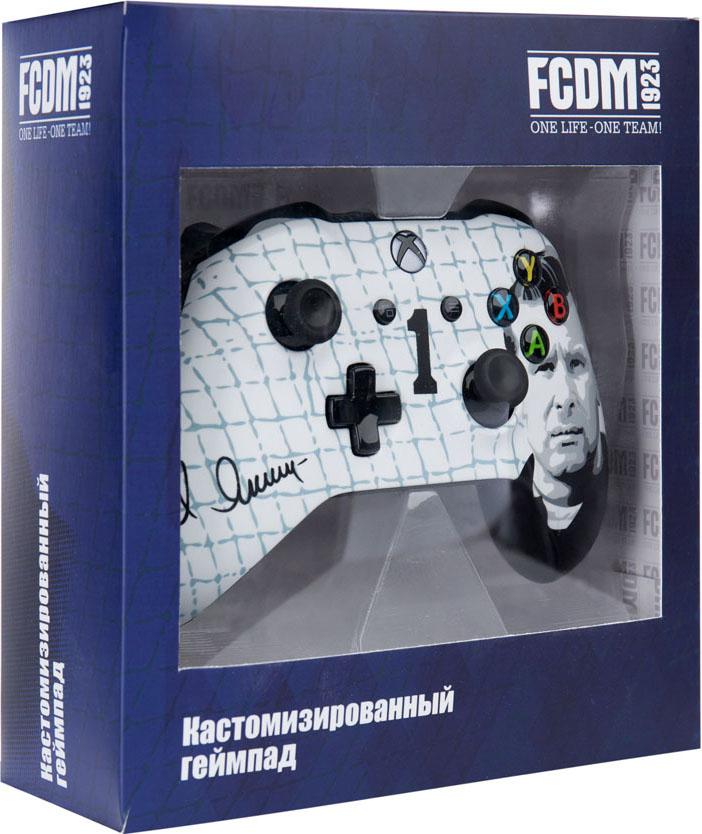 Кастомизированный беспроводной геймпад для Xbox One (Динамо. Чёрный паук) кастомизированный беспроводной геймпад для xbox one гладиатор