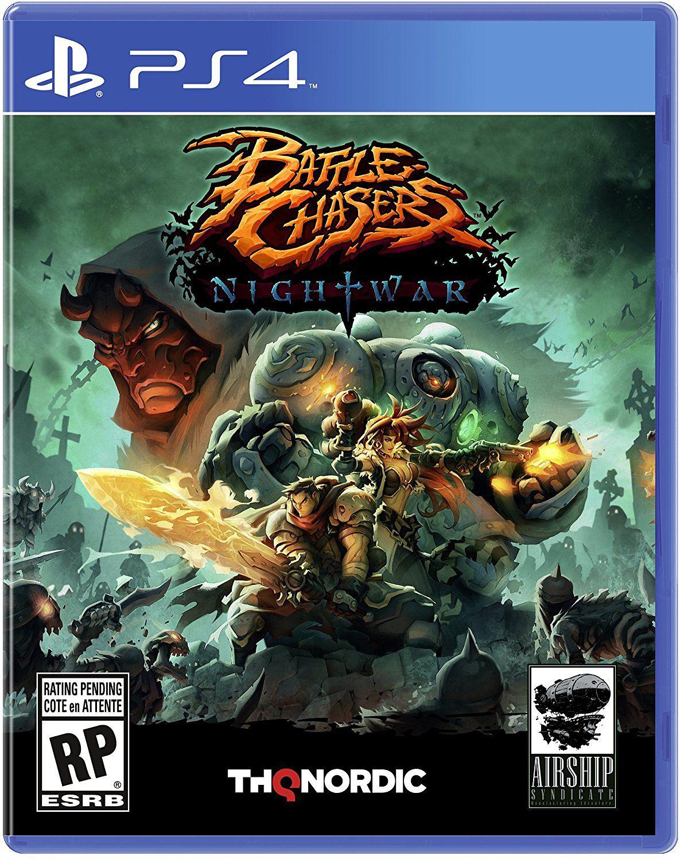 Battle Chasers: Nightwar [PS4]Battle Chasers: Nightwar – это ролевая игра по мотивам культового фэнтезийного  комикса 90-х Джо Мадерейры (Joe Madureira) и лучших представителей консольных игр.<br>