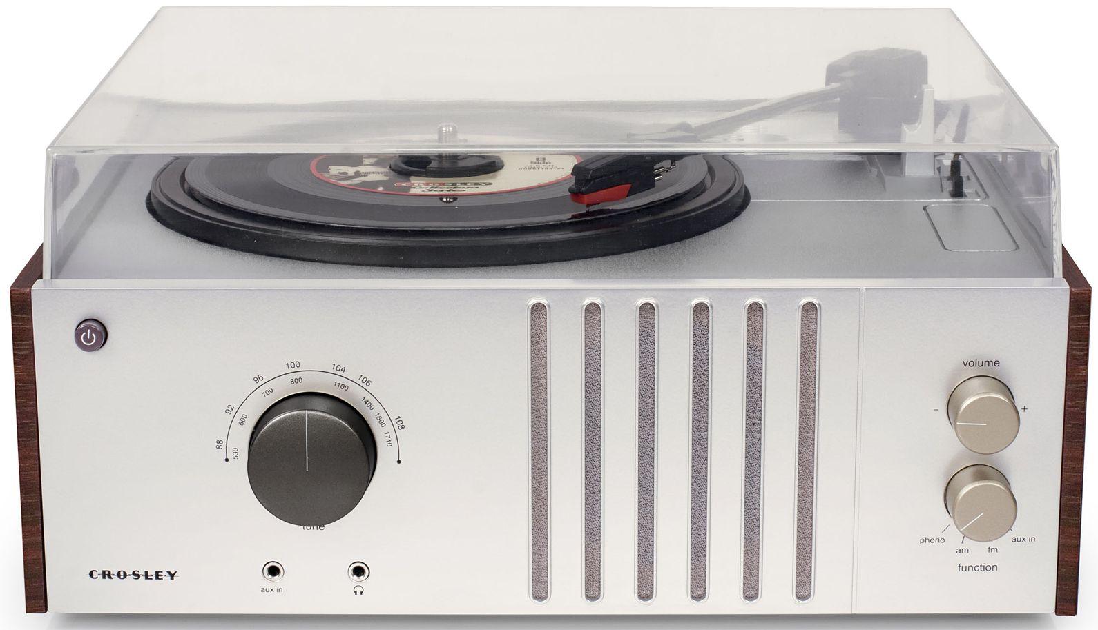 Виниловый проигрыватель Crosley Player FM / AM (CR6017A-MA) от 1С Интерес