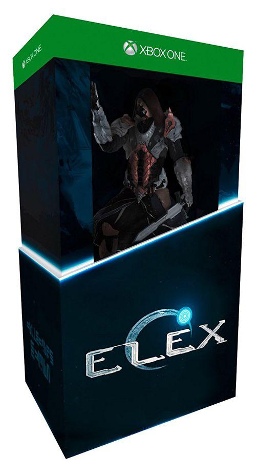 ELEX. Коллекционное издание [Xbox One]ELEX – тщательно проработанная динамическая ролевая игра, создаваемая удостоенными наград авторами серии Gothic. Ее действие разворачивается в новой постапокалиптической научно-фантастической вселенной: игроков ждет огромный бесшовный мир, полный ярких персонажей, гротескных мутантов, моральных дилемм и напряженных приключений.<br>