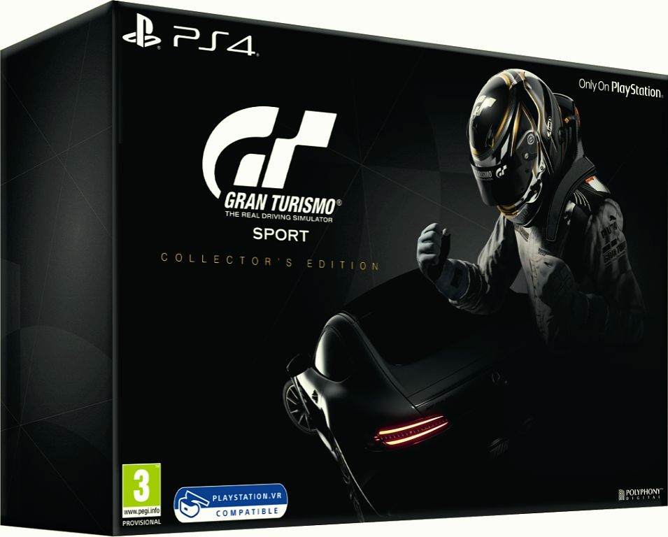 Gran Turismo Sport. Collector's Edition (поддержка VR) [PS4] игровая консоль sony playstation 4 slim 1tb black gran turismo sport limited edition игра gran turismo sport