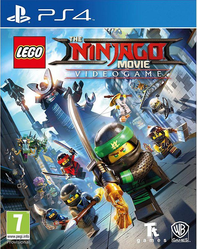 LEGO: Ниндзяго Фильм: Видеоигра [PS4]