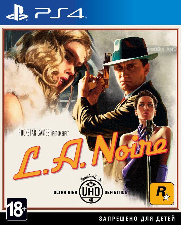 L.A. Noire [PS4]L.A. Noire для PlayStation 4 содержит новые материалы и выглядит как никогда хорошо благодаря ряду технических усовершенствований. В их числе улучшенные эффекты погоды, смога и освещения, делающие пейзажи Лос-Анджелеса еще правдоподобнее, обсчитываемые в реальном времени отражения на машинах, а также новые эффекты «хром» и «грязь», позволяющие разнообразить поток машин.<br>