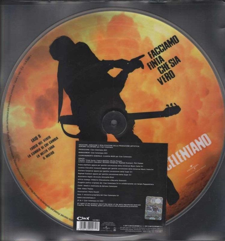 Adriano Celentano: Facciamo Finta Che Sia Vero (LP)Adriano Celentano. Facciamo finta che sia vero &amp;ndash; новый альбом самого популярного итальянского актера и музыканта Адриано Челентано.<br>