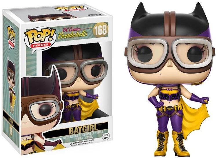 Фигурка Funko POP Heroes DC Comics Bombshells: Batgirl (9,5 см)Фигурка Funko POP Heroes DC Comics Bombshells: Batgirl создана по мотивам вселенной DC и воплощает собой одну из супергероинь DC Comics.<br>
