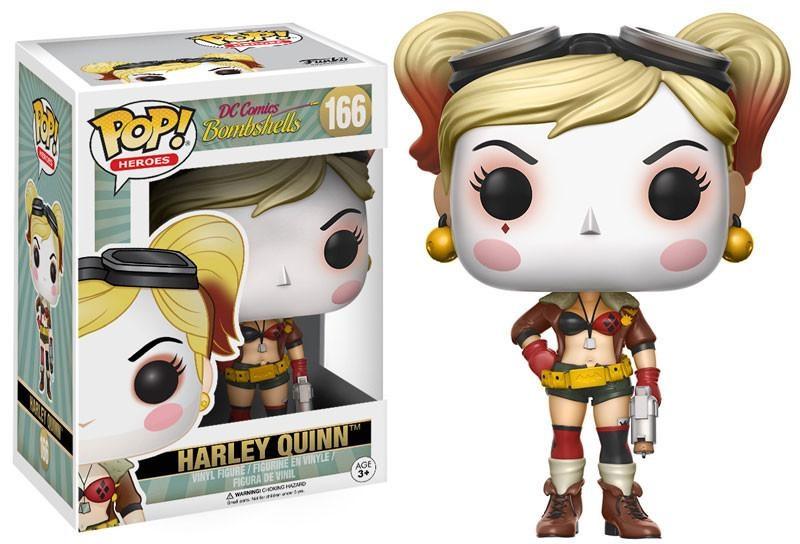 Фигурка Funko POP Heroes DC Comics Bombshells: Harley Quinn (9,5 см)Фигурка Funko POP Heroes DC Comics Bombshells: Harley Quinn создана по мотивам вселенной DC и воплощает собой одну из супергероинь DC Comics.<br>