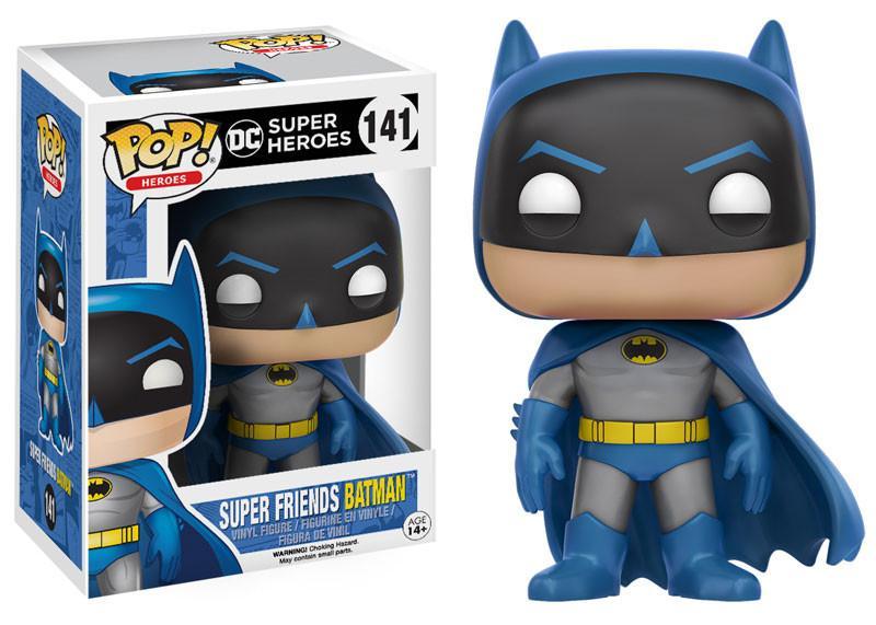 Фигурка Funko POP Heroes DC Super Heroes: Super Friends Batman (9,5 см)Фигурка Funko POP Heroes DC Super Heroes: Super Friends Batman создана по мотивам вселенной DC и воплощает собой одного из самых популярных супергероев – Бэтмена.<br>