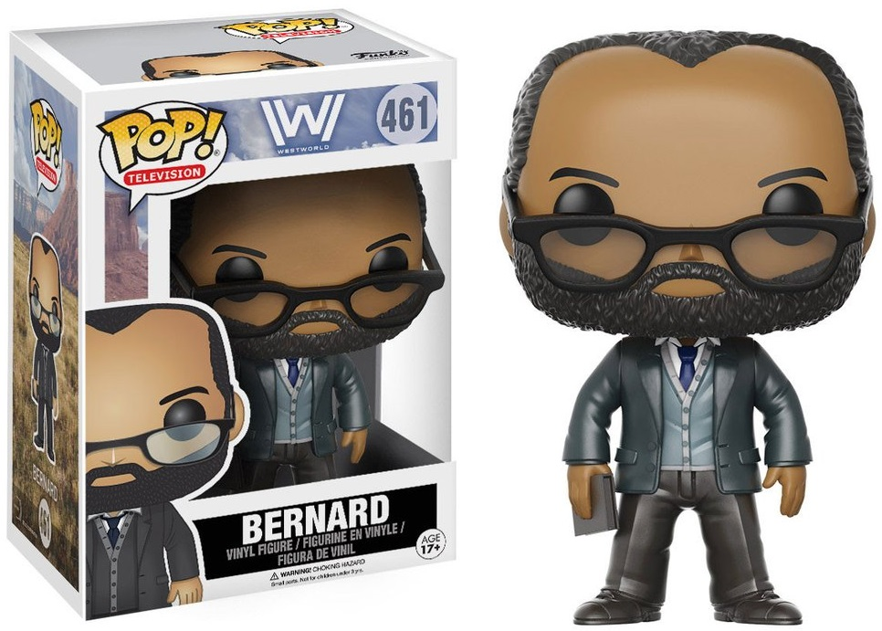 Фигурка Funko POP Television Westworld: Bernard (9,5 см)Фигурка Funko POP Television Westworld: Bernard создана по мотивам американского фантастического телесериала «Мир Дикого запада».<br>