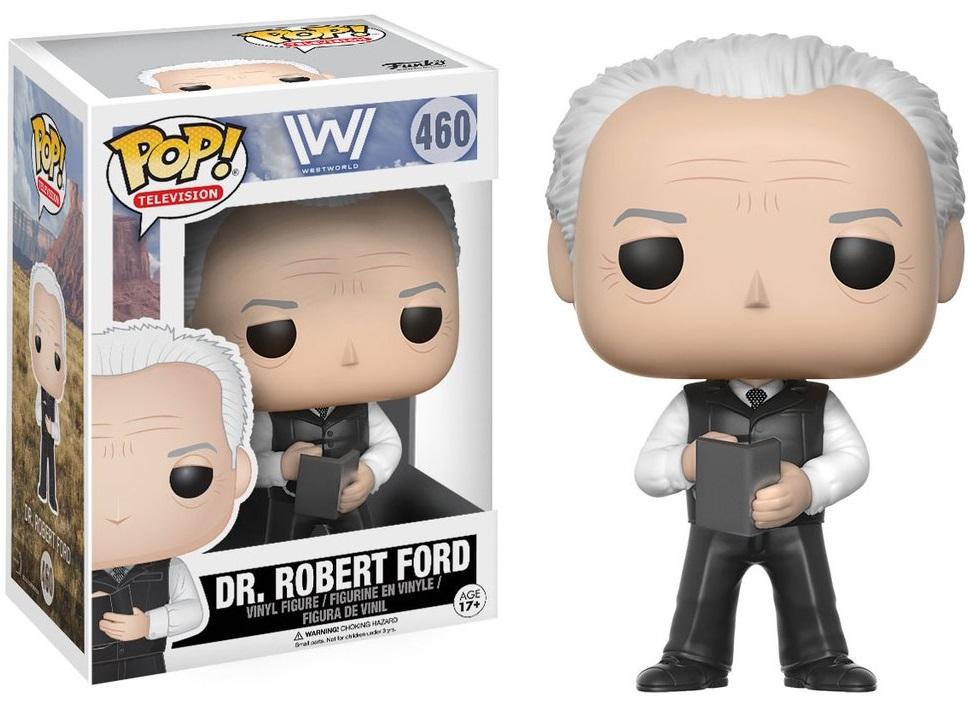 Фигурка Funko POP Television Westworld: Dr. Robert Ford (9,5 см)Фигурка Funko POP Television Westworld: Dr. Robert Ford создана по мотивам американского фантастического телесериала «Мир Дикого запада».<br>