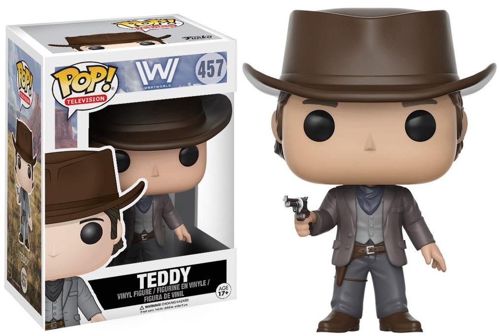 Фигурка Funko POP Television Westworld: Teddy (9,5 см)Фигурка Funko POP Television Westworld: Teddy создана по мотивам американского фантастического телесериала «Мир Дикого запада».<br>