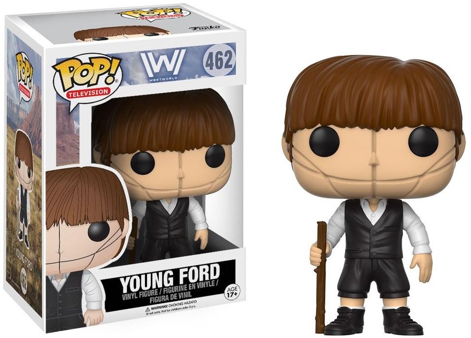 Фигурка Funko POP Television Westworld: Young Ford (9,5 см)Фигурка Funko POP Television Westworld: Young Ford создана по мотивам американского фантастического телесериала «Мир Дикого запада».<br>