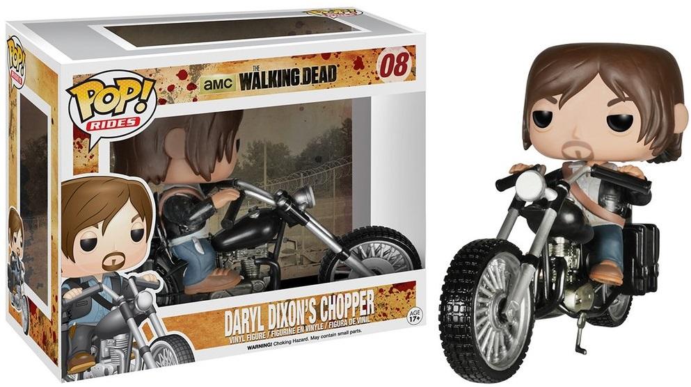 Фигурка Funko POP Rides Walking Dead: Daryl Dixons Chopper (9,5 см)Фигурка Funko POP Rides Walking Dead: Daryl Dixons Chopper воплощает собой одного из персонажей телесериала «Ходячие мертвецы» – Дэрила Диксона.<br>