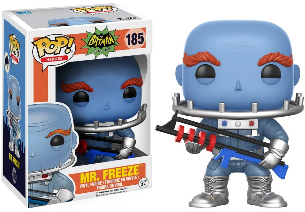 Фигурка Funko POP Heroes Batman Classic TV Series: Mr. Freeze (9,5 см)Фигурка Funko POP Heroes Batman Classic TV Series: Mr. Freeze создана по мотивам американского телесериала 1960-х годов, основанного на комиксах компании DC.<br>
