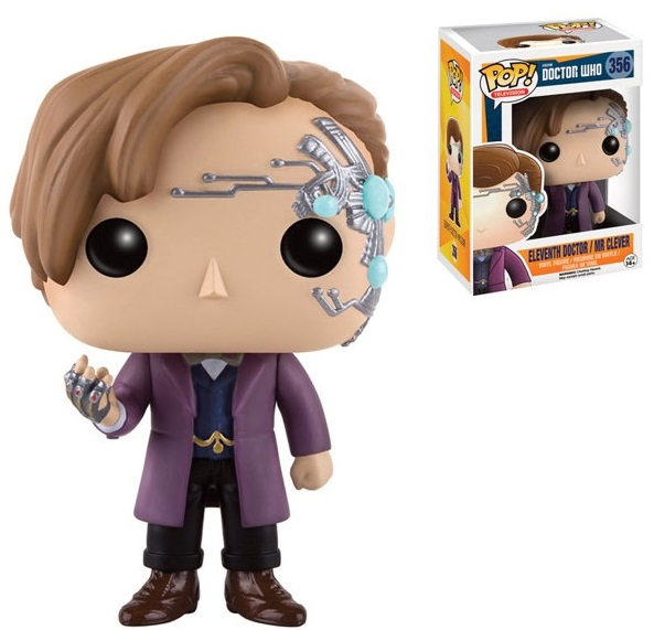 Фигурка Funko POP Television Doctor Who: Eleventh Doctor / Mr Clever (9,5 см) doctor who the eleventh doctor volume 3 conversion