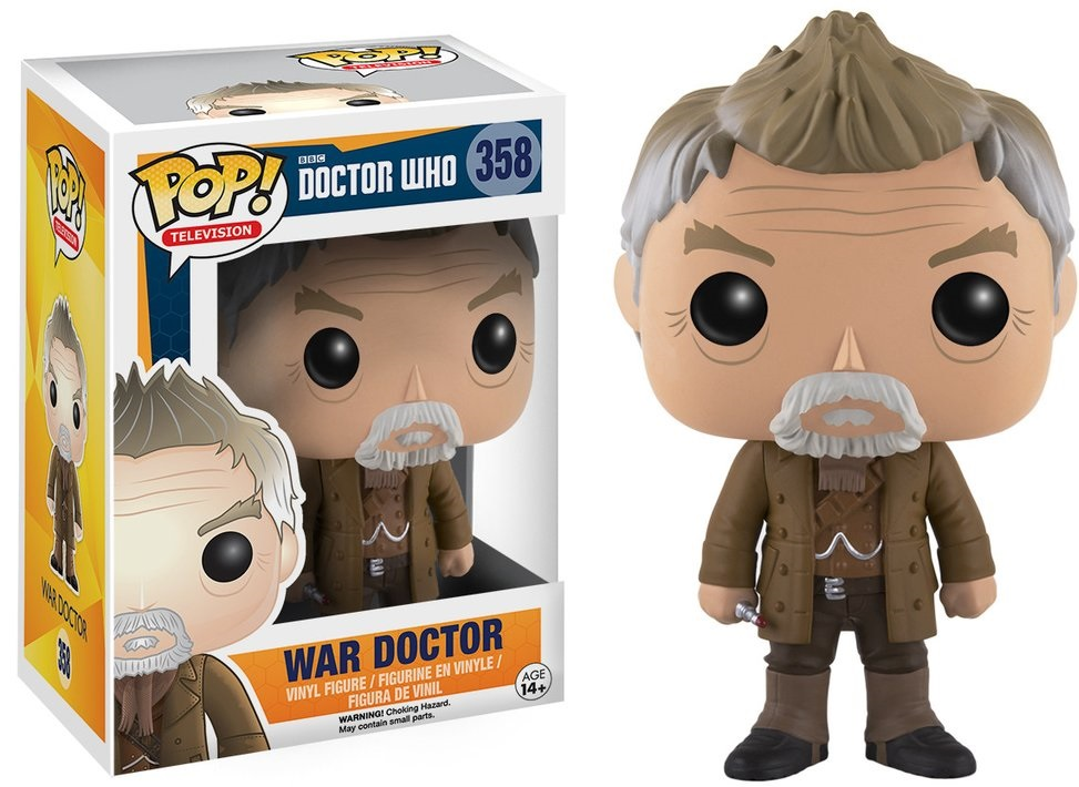 Фигурка Funko POP Television Doctor Who: War Doctor (9,5 см) doctor who hornets nest 5 hive of horror