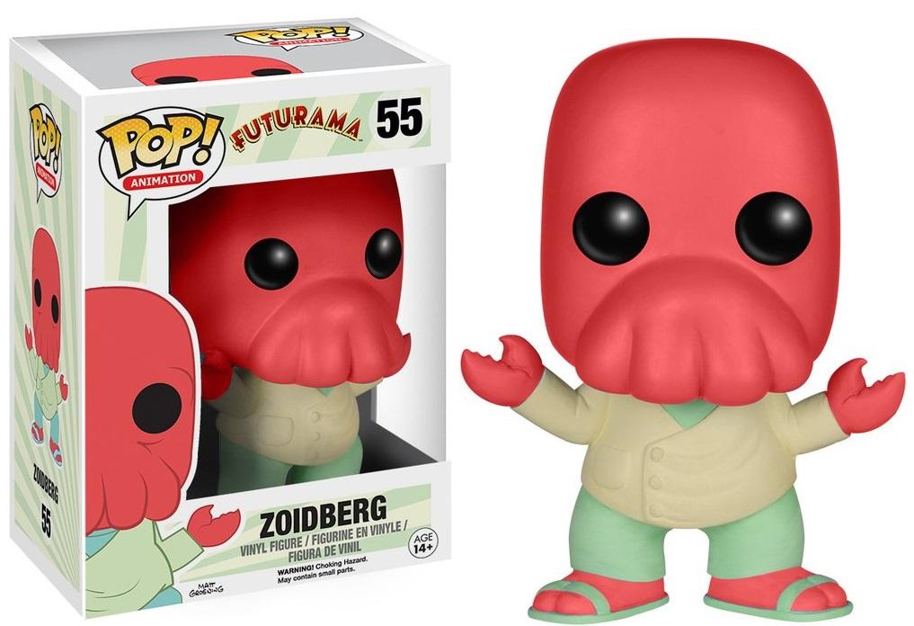 Фигурка Funko POP Animation Futurama: Zoidberg (9,5 см)Фигурка Funko POP Animation Futurama: Zoidberg создана по мотивам американского научно-фантастического мультсериала, созданного авторами мультсериала «Симпсоны».<br>