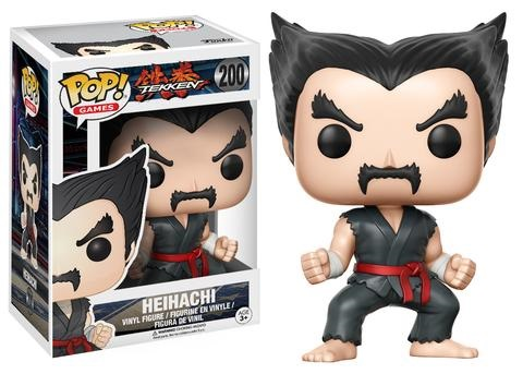 Фигурка Funko POP Games Tekken: Heihachi Black Hair (9,5 см) фигурка funko pop bobble marvel black panther nakia