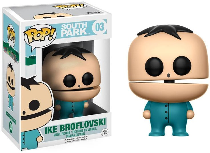 Фигурка Funko POP South Park: Ike Broflovski (9,5 см) children sports suit 2017 winter tracksuit kids teenage girls clothes two piece set children clothing school girl outfit 6 year